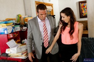 Naughty America Belle Knox & Steven St Croix in Naughty Bookworms